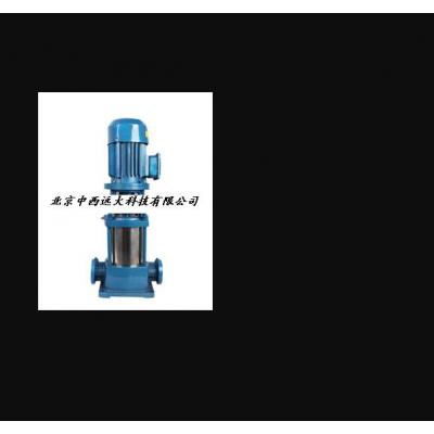 中西 立式多级离心泵/立式多级泵 型号:TB62-50GDL12-15*4库号:M402191