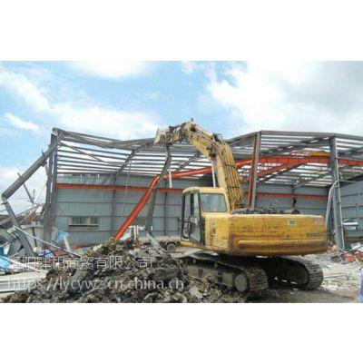 偃师旧厂房拆除 伊川拆除钢结构
