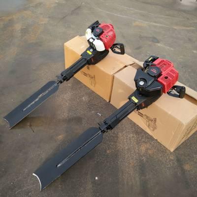 果树育苗移栽机 带土起苗机 汽油式便捷式挖树机