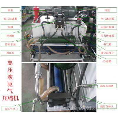 高压大流量液驱液体增压机 高压气动液压单元