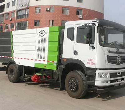 虹宇牌HYS5182TXSH5型洗扫车价格/格尔发18吨洗扫车图片/湖北宏宇专用汽车