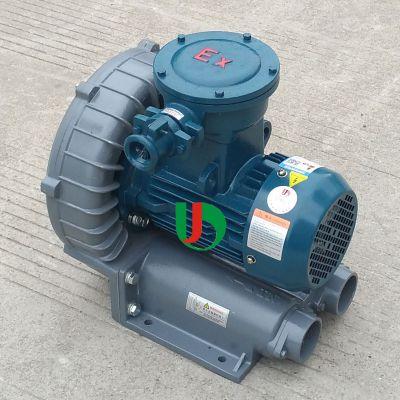 低噪音油气回收行业用漩涡高压防爆鼓风机厂家