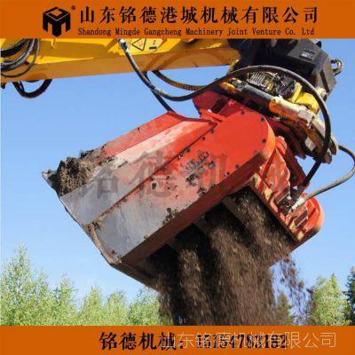 煤炭破碎筛分斗 土壤筛分堆肥破碎铲斗 轮轴破碎筛分斗厂家热销