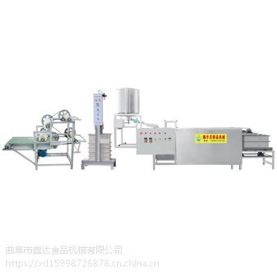 仿手工豆腐皮机 小型全自动豆片机 广西豆腐皮机生产线