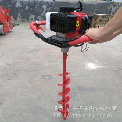 湖南省打孔机图片 新疆挖坑机 便捷式葡萄支架钻眼机