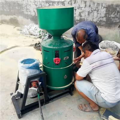 立式砂辊碾米机 谷物脱皮机 谷子去壳碾米机
