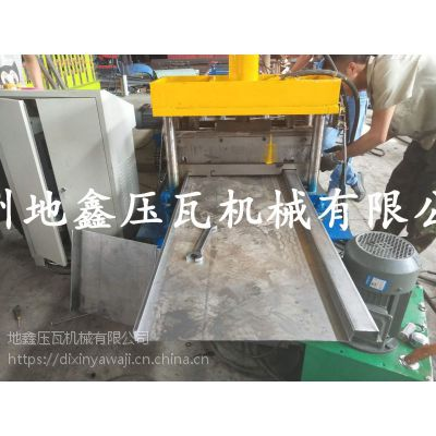 挂板式集装箱板设备地鑫机械彩钢瓦机器