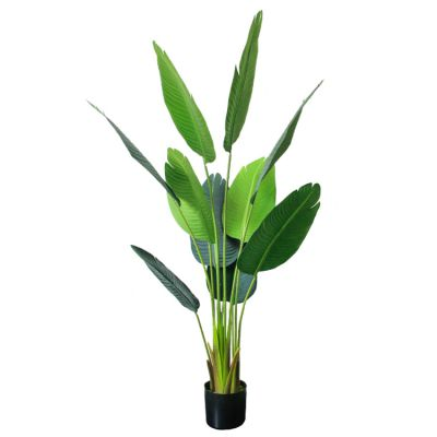 广东仿真旅人蕉生产厂家 公园餐厅装饰绿化植物仿真植物盆景盆栽定制
