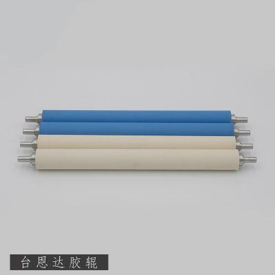 台湾工厂加工定制抗静电胶辊粘尘胶辊离型效果好不吸附不反粘硅胶胶辊包胶除尘滚轮