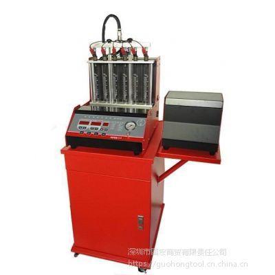 汽车喷油嘴检测检测机 6缸超声波喷油咀清洗机 维修清洗设备电喷测试台广东