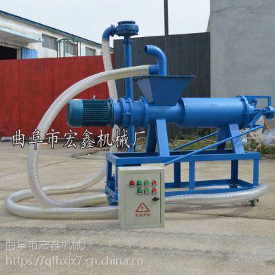 多种型号药渣固液分离机 红薯渣干湿分离机 高效环保粪便分离设备