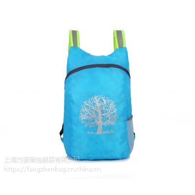 上海箱包批发定制男女款运动休闲折叠双肩包来图打样可定制logo