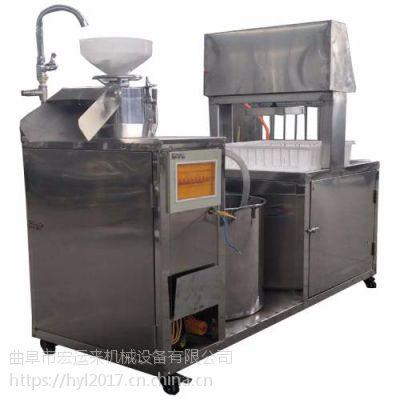 磨豆腐的机器网上卖多少钱一台 豆腐机生产线设备视频