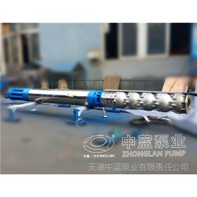 耐高温井泵铸铁QJR井用潜水泵