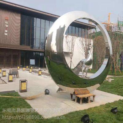 信宜商业楼盘室个绿化带不锈钢玻璃钢纤维抽象造型摆件装饰厂家直销