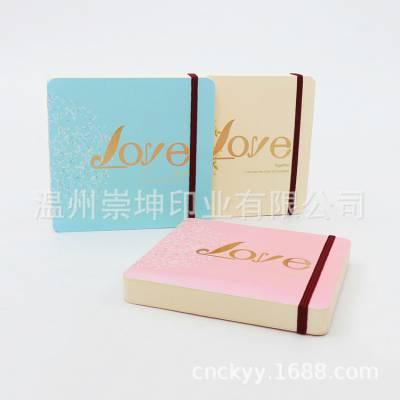 创意胶装笔记本定制新款韩版特种纸文具手账本旅游纪念日记本批发