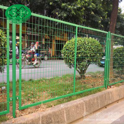 广东实体工厂防护栅栏批发 人行道护栏 绿化带隔离栅价格