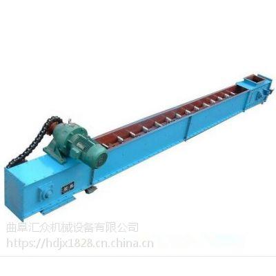 垃圾刮板输送机来图生产 自清式刮板输送机