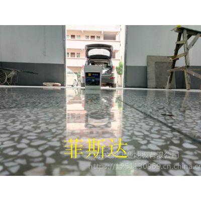 乐城厂房地面翻新—乐城水磨石硬化处理