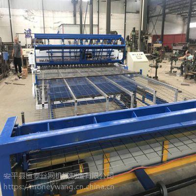 衡水专业生产网片自动焊接机器各种规格护栏网排焊机厂家供应 网孔大小可调