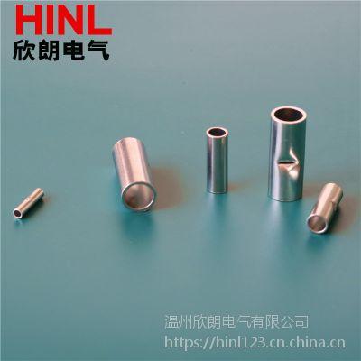 BN5.5中间裸接头管状冷压端头裸接线铜制冷压接线端子接线鼻子