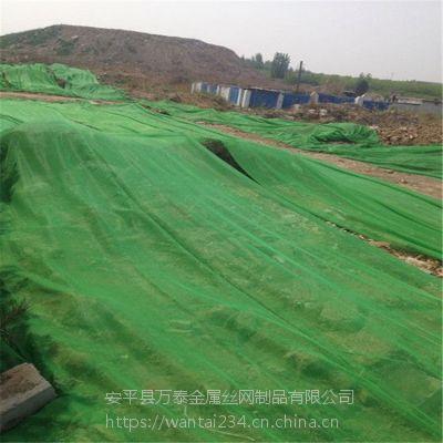 工地用绿网 绿色环保盖土网 黑丝防尘网现货