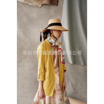 品牌折扣女装尾货批发一手货源现货服装供应