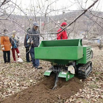 全自动开沟施肥回填机 果园履带式旋耕机厂家