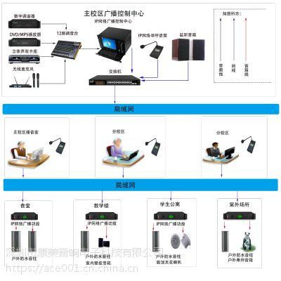 智慧校园 IP网络广播系统解决方案