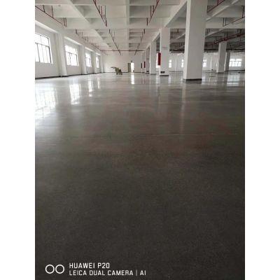 中山市南头水泥地钢化处理 渗透地坪