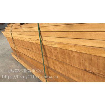 巴劳木地板价格厂家定做任意规格原木开料