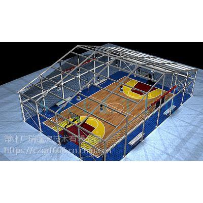 广瑞篷房 专业设计装配式篷房 广泛用于篮球馆 羽毛球馆 游泳池