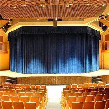 兰州市升降舞台幕布甘肃省舞台机械幕布电动轨道定做