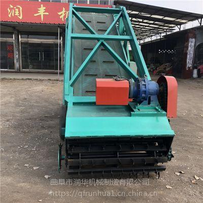 秸秆青储扒料机 润华 电动小型取料机 大型牛场专用取草机