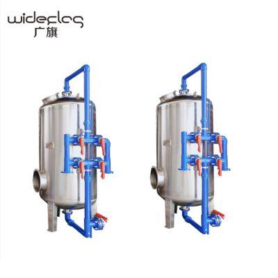 整套山泉水净化设备出售 石英砂清澈水质机械过滤器 广旗牌