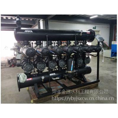 农业生产滴灌喷灌成套叠片过滤系统以色列原装进口3SK-5in PP塑料管道