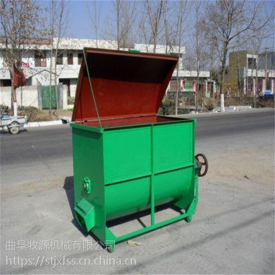 500公斤电动饲料粉碎搅拌机 圣泰自吸立式饲料粉碎搅拌机