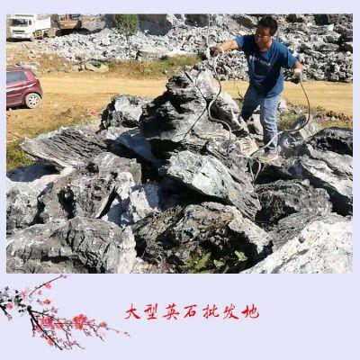 大型英石批发地英德市望埠镇 欢迎您来名富奇石场批发英石假山石