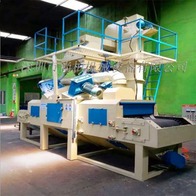 深圳市尚柏自动喷砂机厂家大量批发通过式抛丸机可非标定制五金卫浴灯饰铝压铸件表面处理