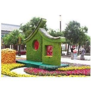 可定制的雕塑造型 四川雕塑造型厂家 春节绿雕造型