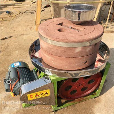 玉米糊电动石磨 芝麻酱石磨的好处 电动石碾生产厂家