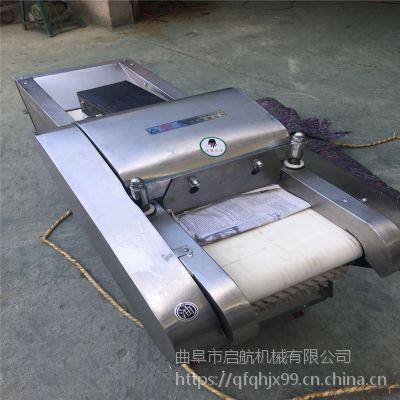 新款腐竹切段机 多功能660型全不锈钢切菜机 启航香菇切片机价格