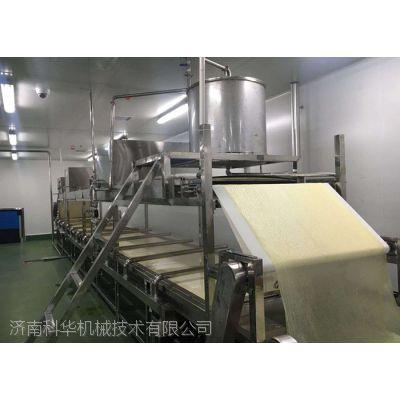 全自动腐竹生产设备多少钱 加工豆油皮的机器 大豆自动浸泡系统视频 蒸汽煮浆机械