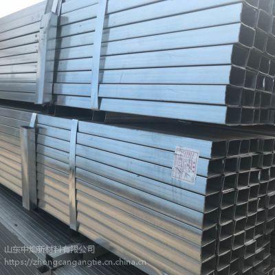 山东泰安现货低价镀锌方管q235b 价格规格欢迎电询