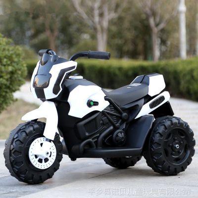 赠品外贸儿童电动车三轮车摩托车小孩汽车 可坐带遥控 新款 童车