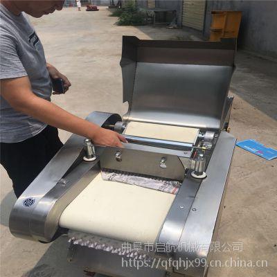 加工坊用腐竹切段机 切大葱机型号 启航咸萝卜切片机