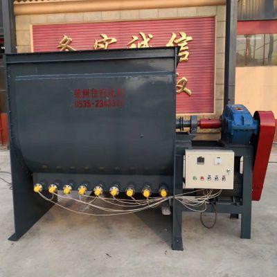 供应泽诺不锈钢卧式螺带混合机 混合机设备