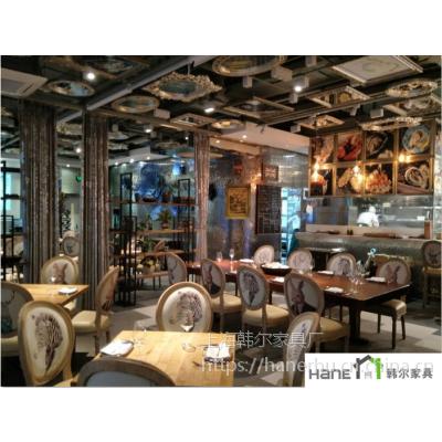 供应OYSTER EXPO餐厅桌椅 法式西餐桌椅订做 上海韩尔法式复古品牌
