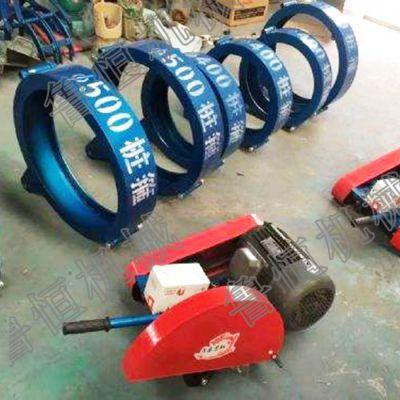 卡箍式切桩机 抱箍式切桩机 水泥管桩切割机 电动切桩机厂家直销