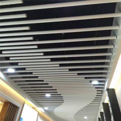 供应西安木纹铝方通 铝方通铝天花吊顶材料厂家